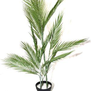 """עץ דקל מלאכותי 130 ס""""מ"""